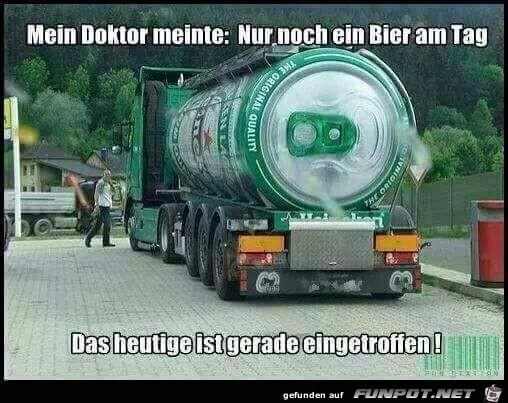 Ein Bier am Tag