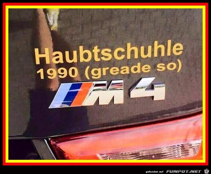 Woran erkennt man das der BMW-Fahrer RTL schaut