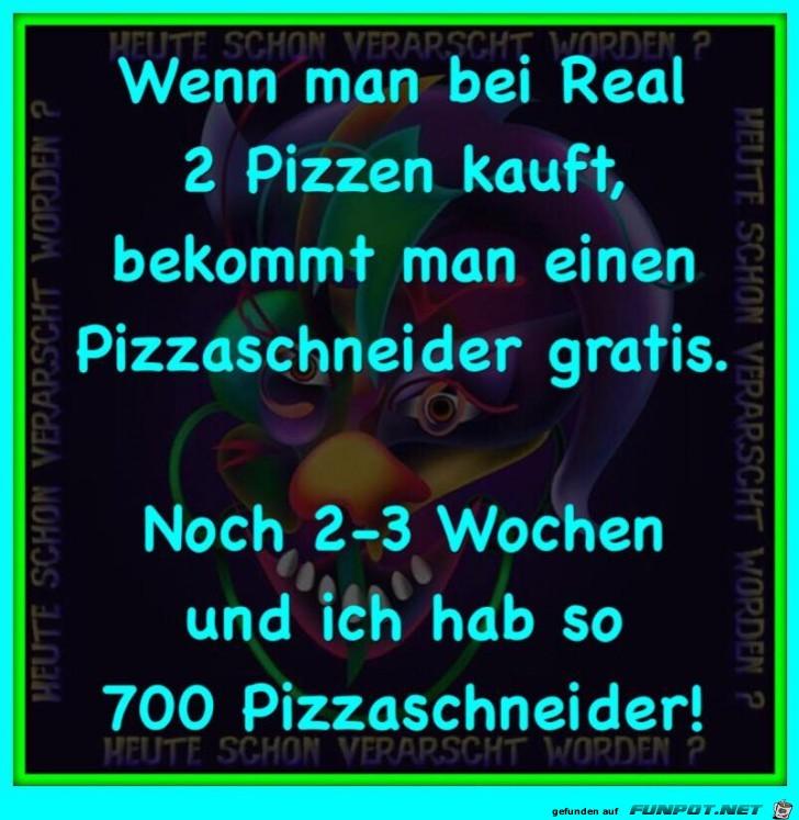 Pizzaschneider gratis