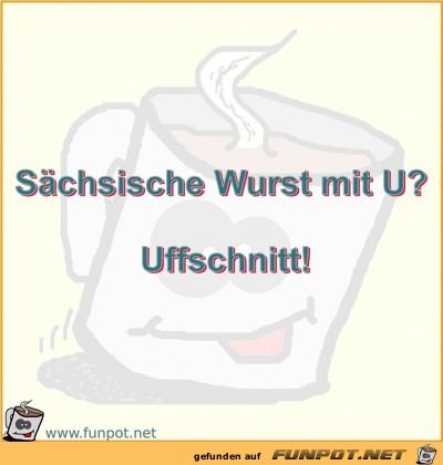 Sächsische Wurst