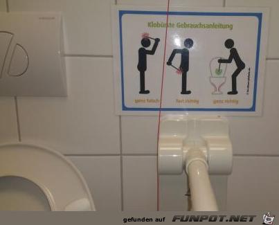 Klobürsten-Anleitung