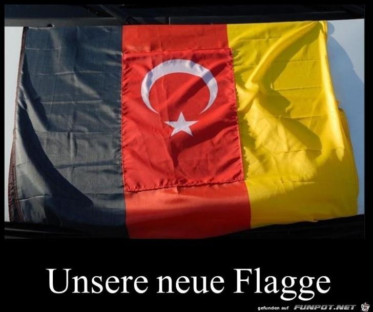 neue Deutsche Flagge