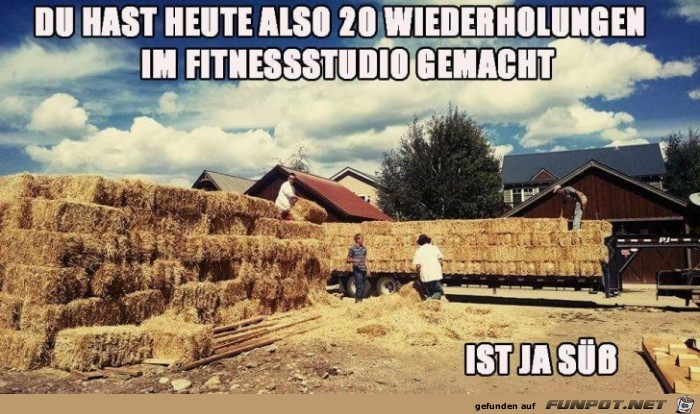 Das natuerliche Fitnessstudio