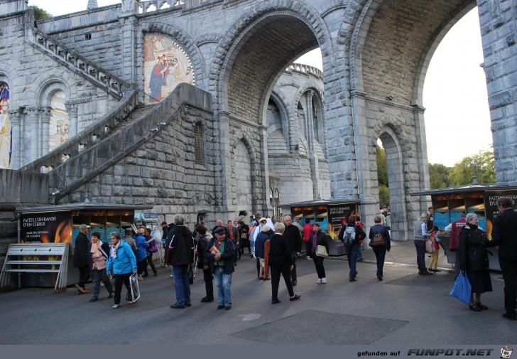 mehr Impressionen aus Lourdes