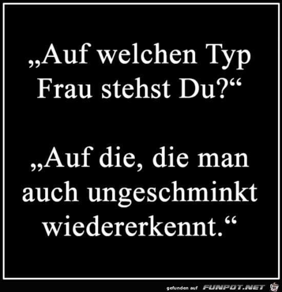 Typ Frau.....