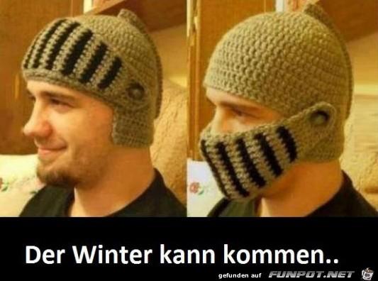 Ich bin vorbereitet für den Winter