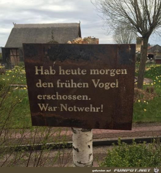Notwehr
