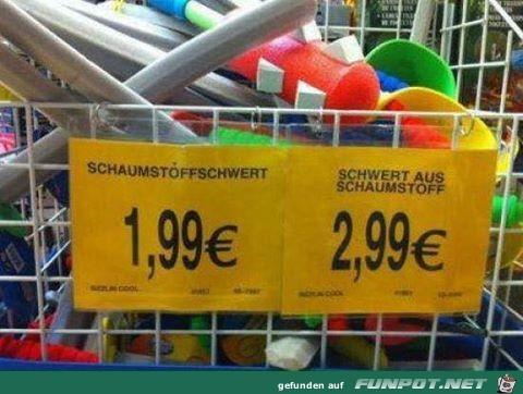 Mehr Wörter sind eben teurer