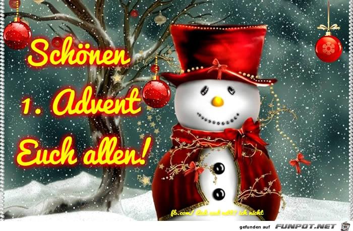 schönen 1.Advent euch allen.....