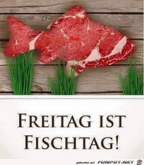 Freitag ist Fischtag