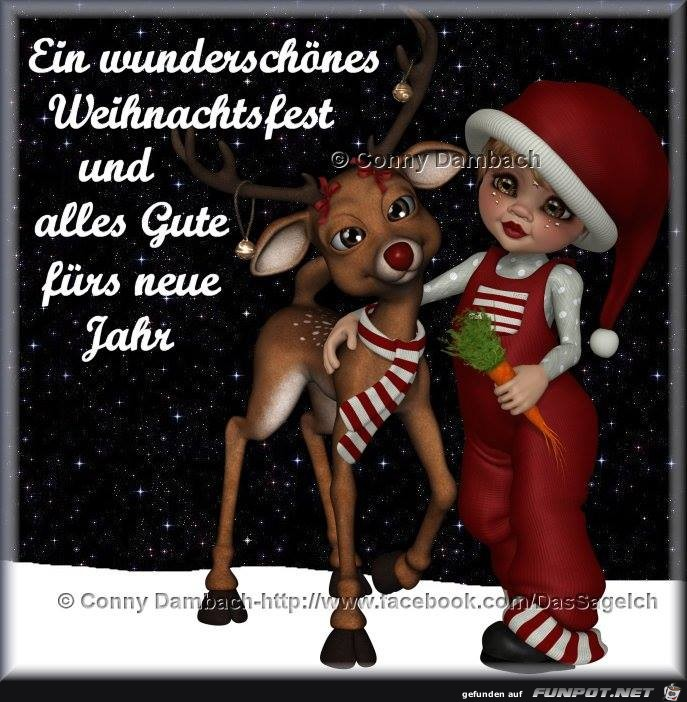 Wunderschoenes Weihnachtsfest