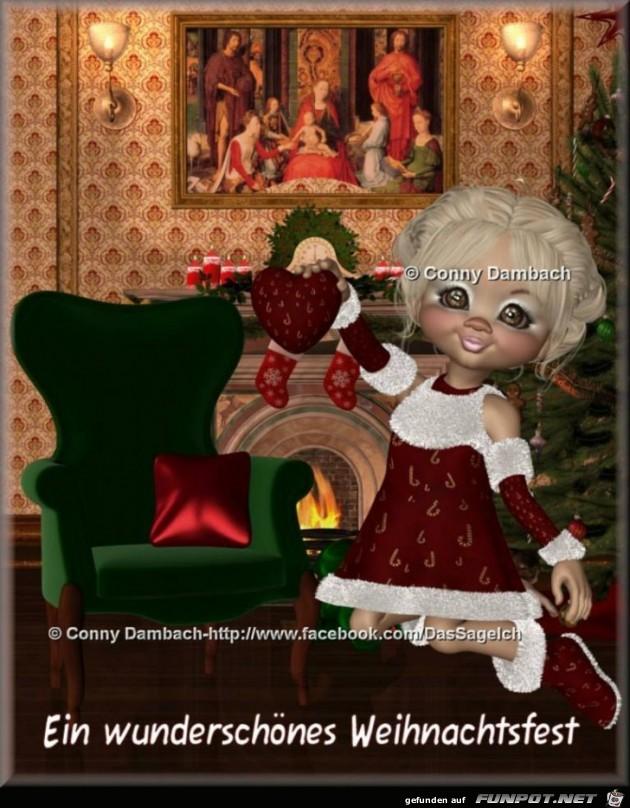 Wunderschönes Weihnachtsfest