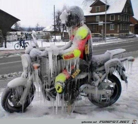 Es ist ziemlich kalt
