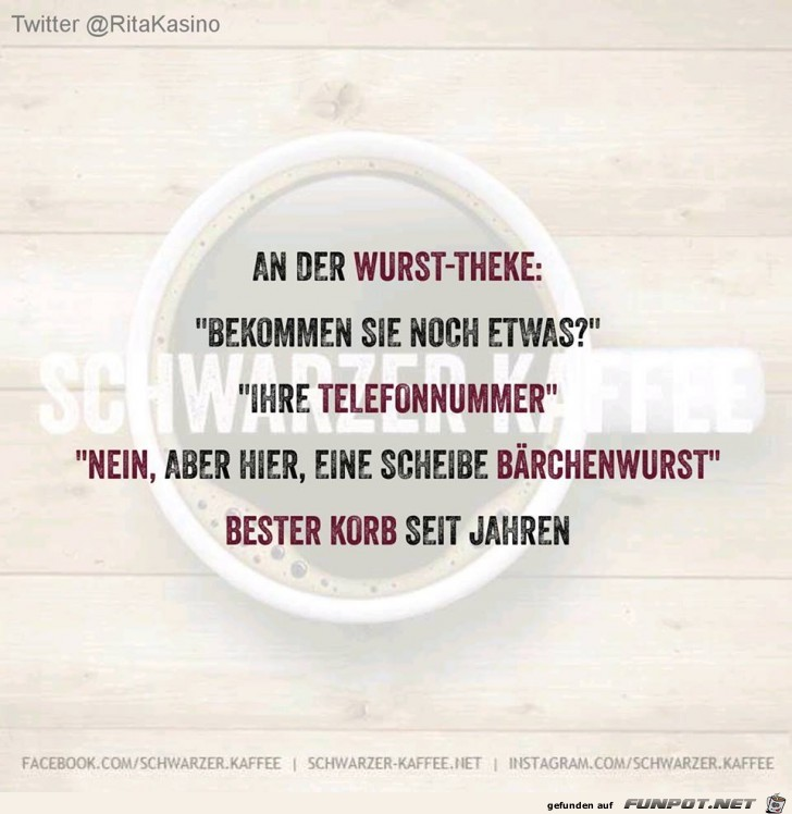 An der Wurst-Theke