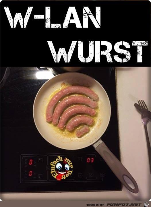 W - LAN Wurst