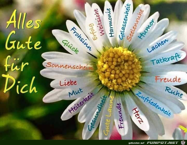 Alles Gute fuer dich