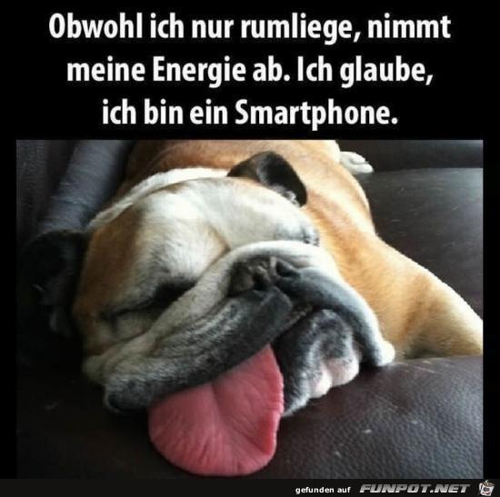 Ein Smartphone