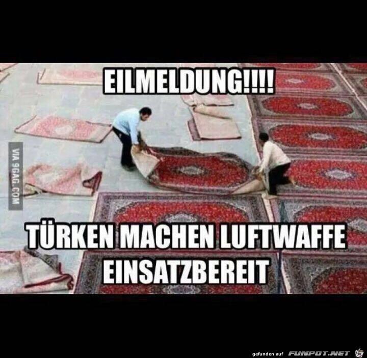 Türken machen Luftwaffe bereit
