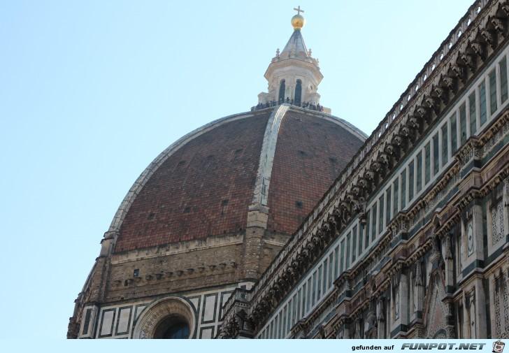Dom und Baptisterium in Florenz