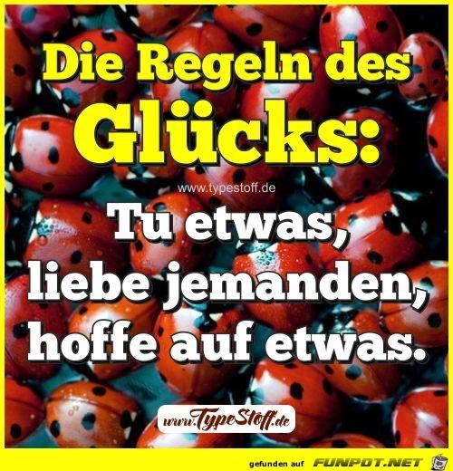 Die Regeln des Gluecks
