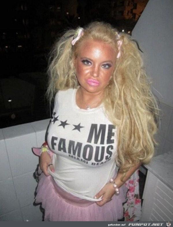 Hässliche Barbie
