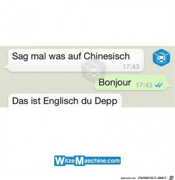 Ein Sprachentalent