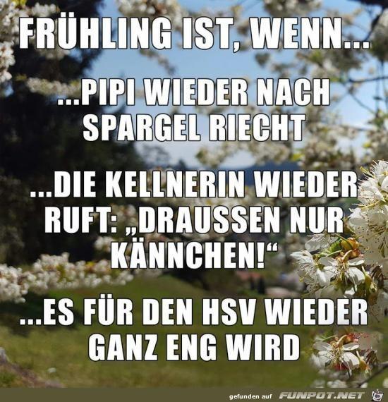 Frühling ist