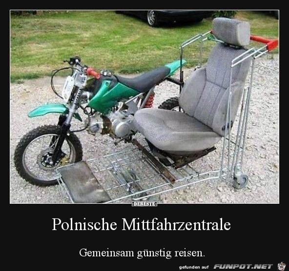 Polnische Mitfahrzentrale......