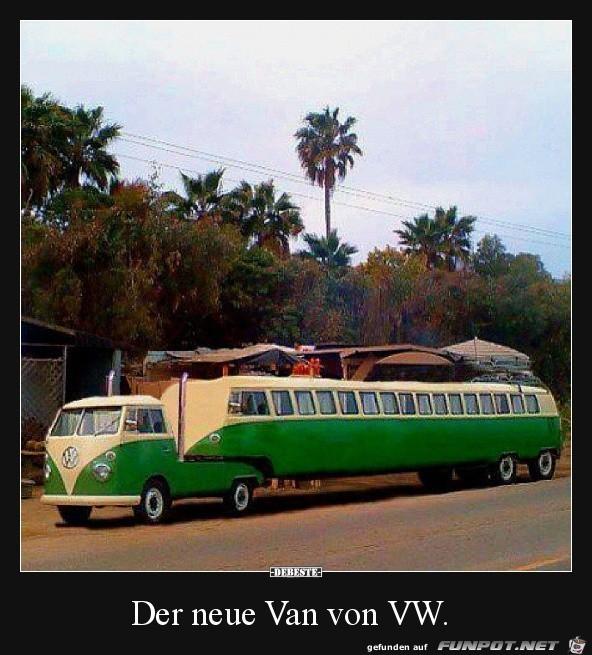 der neue Van von VW.......