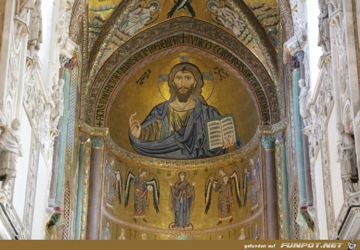 Die Kathedrale von Cefalu (Sizilien)