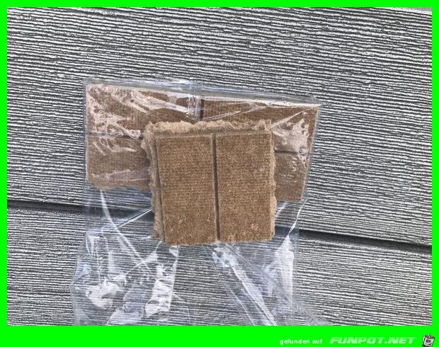 Verwechslungsgefahr von Tofu und Grillanzünder