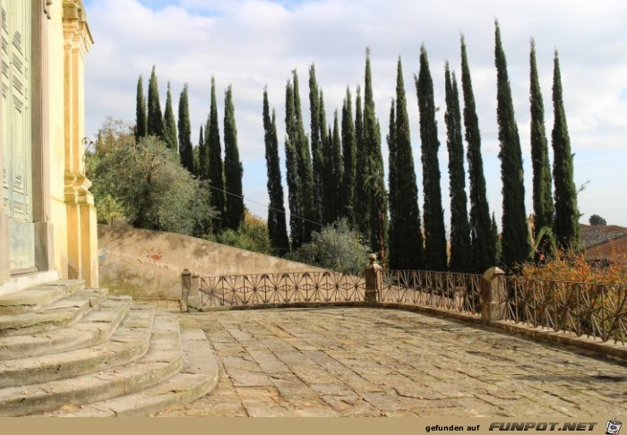 Impressionen aus San Miniato in der Toskana