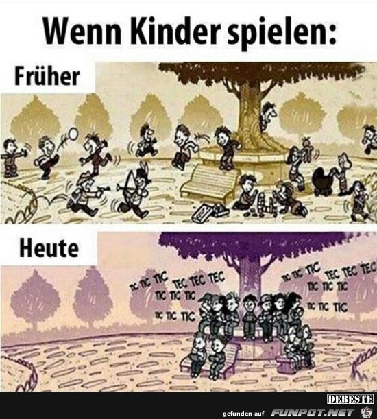 wenn Kinder spielen