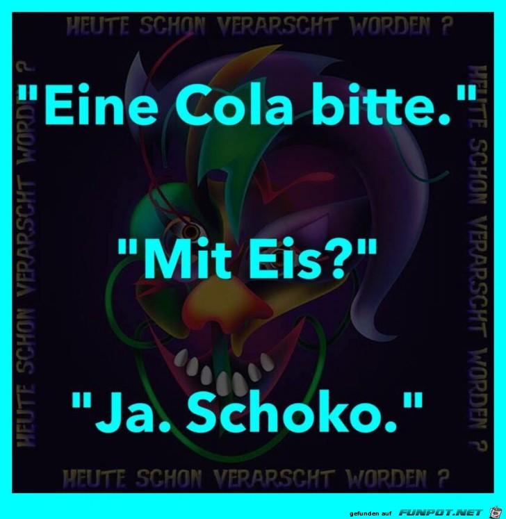 Eiskalte Cola