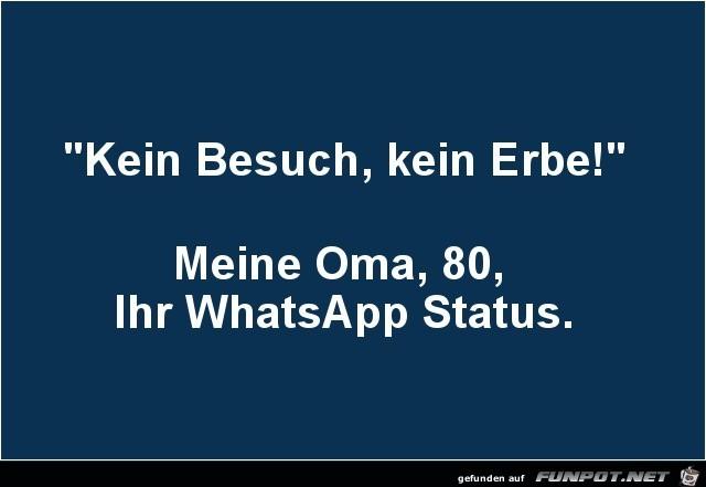 Status lustige sprüche whatsapp Lustige Whatsapp
