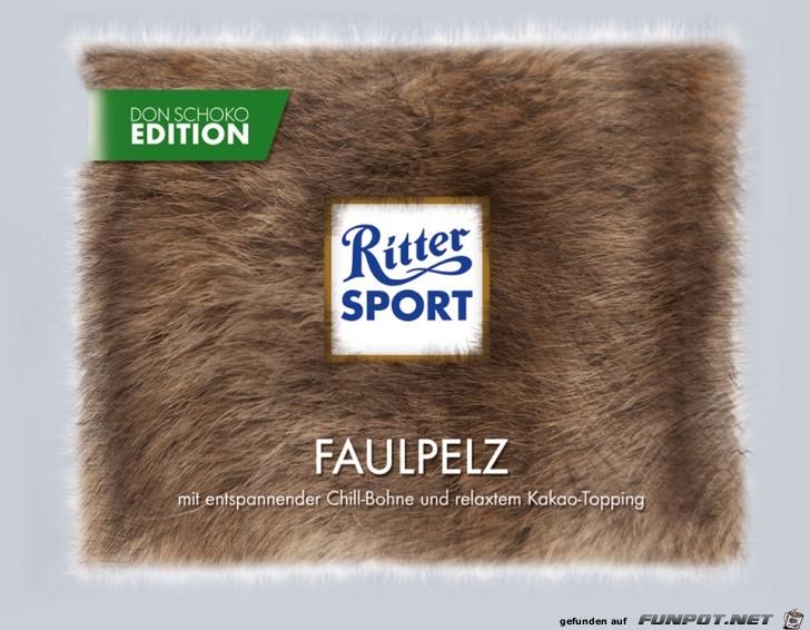Ritter-Sport Faulpelz