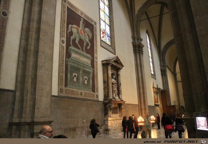 Impressionen aus dem Dom in Florenz