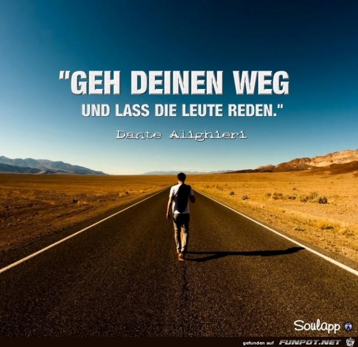 Geh deinen Weg