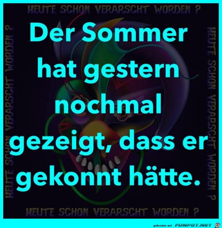 Der Sommer