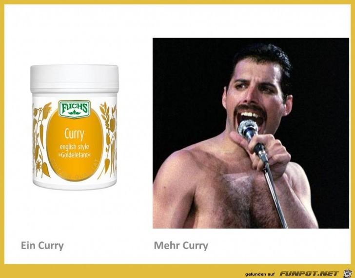 Verwechslungsgefahr -Curry