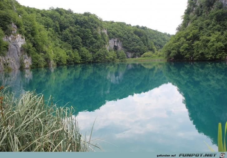Impressionen von den Plitwitzer Seen (Kroatien,...