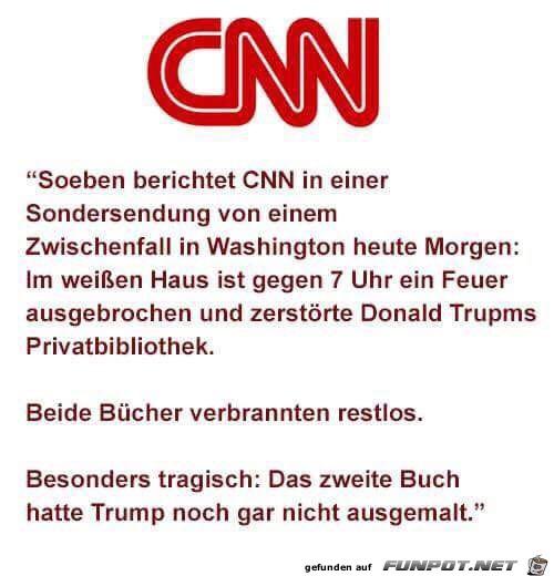 CNN berichtet