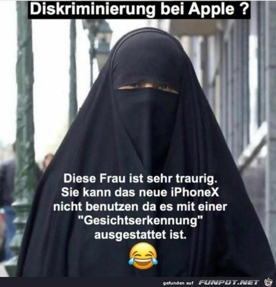 Apple-Diskriminierung