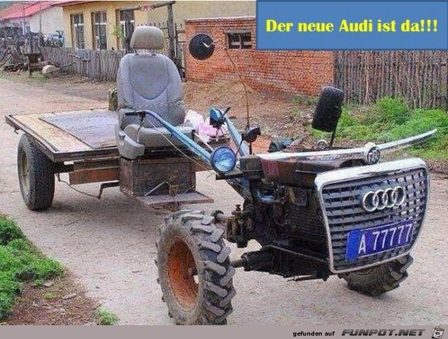 Der neue Audi