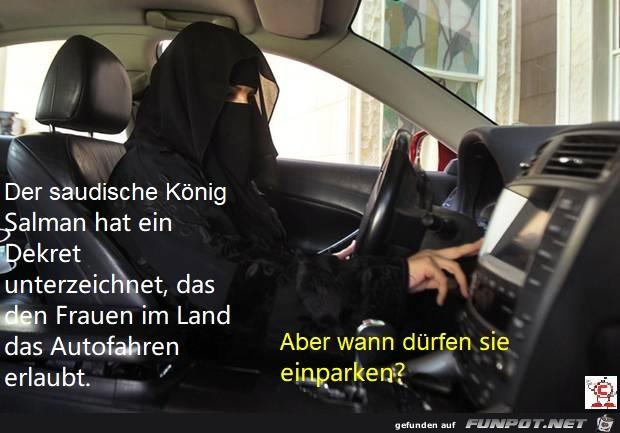 Saudi-Arabien Frauen fahren Auto