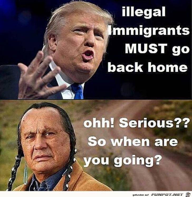 Das waren Trump seine Worte vor der Wahl