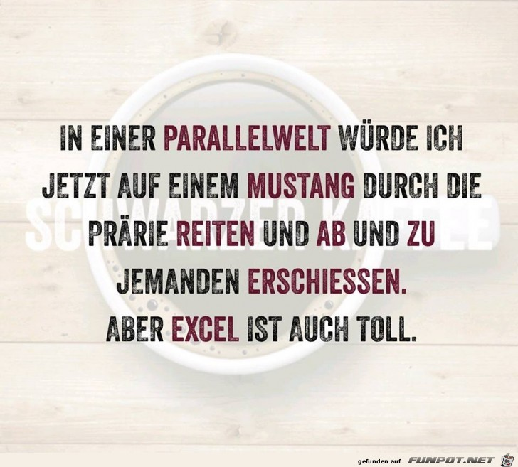 Excel ist auch toll