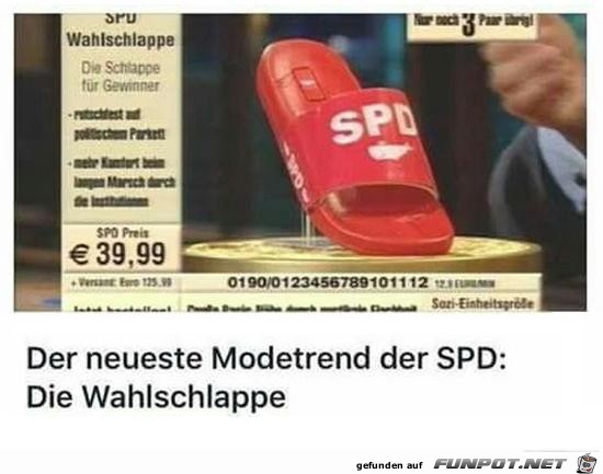 der neueste Modetend der SPD......