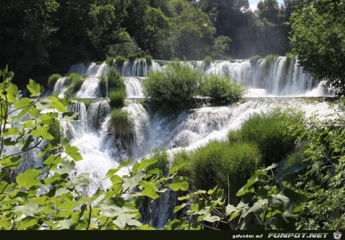 Impressionen aus dem Krka-Nationalpark (Kroatien)