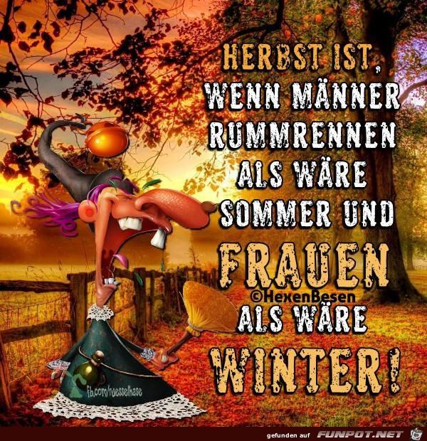 Herbst ist